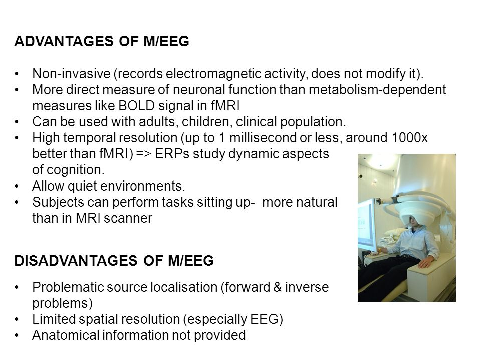 DISADVANTAGES OF M/EEG