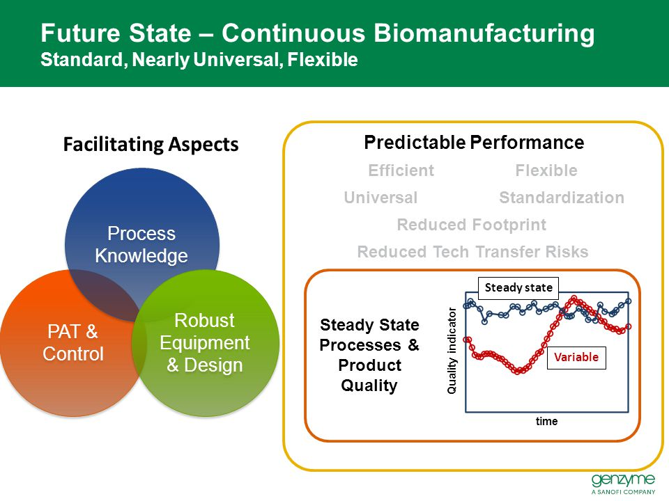 Predictable Performance Steady State Processes & Product