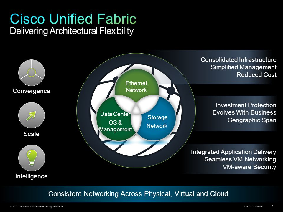 Cisco Unified Fabric Delivering Architectural Flexibility