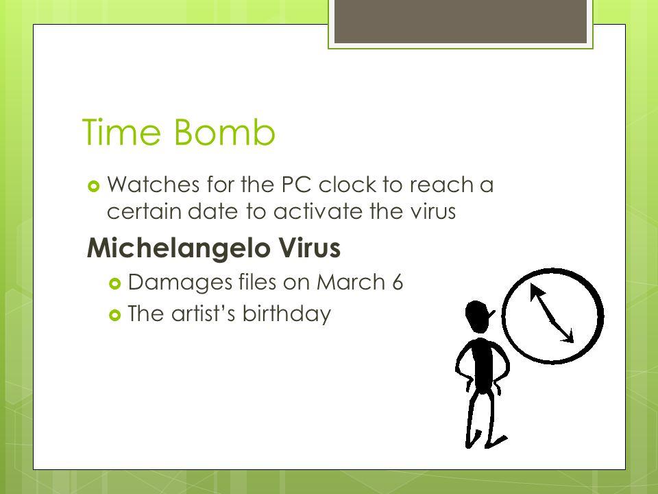 Time Bomb Michelangelo Virus