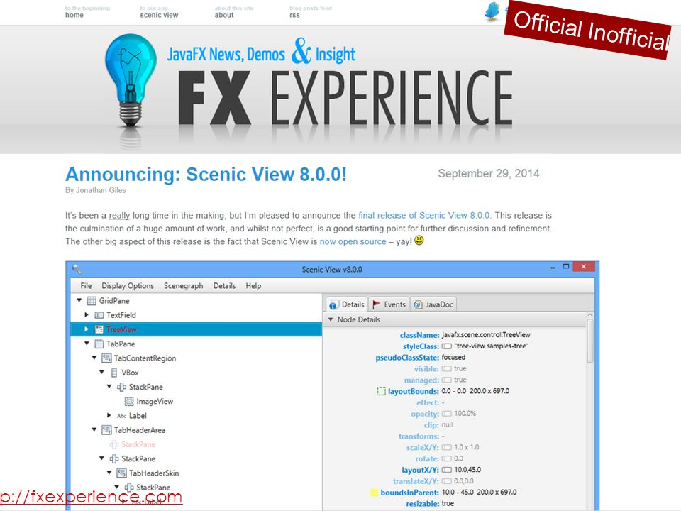 Official Inofficial http://fxexperience.com