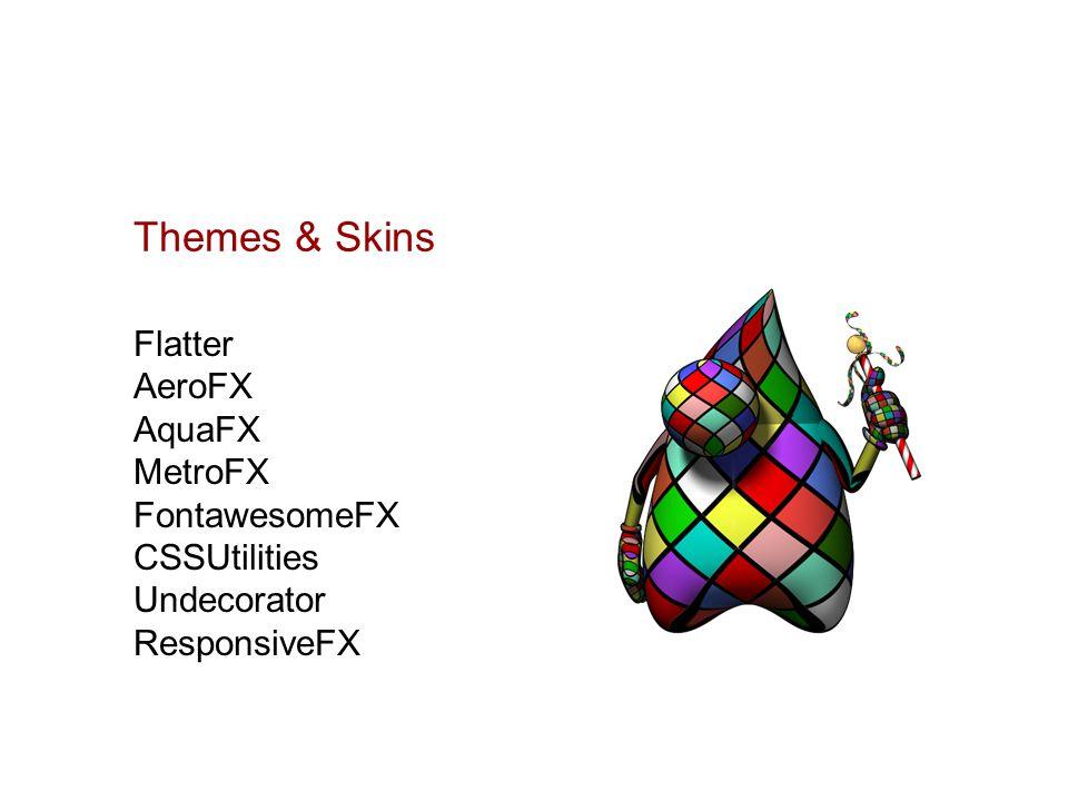 Themes & Skins Flatter AeroFX AquaFX MetroFX FontawesomeFX