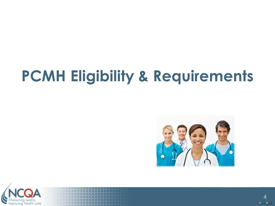 PCMH Eligibility & Requirements