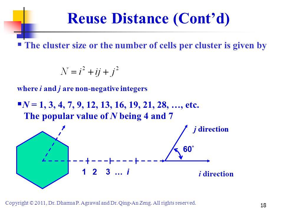 Reuse Distance (Cont'd)
