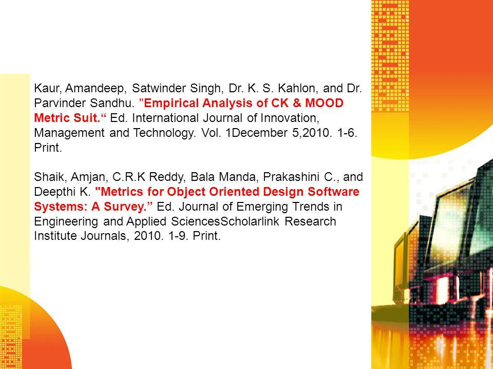 Kaur, Amandeep, Satwinder Singh, Dr. K. S. Kahlon, and Dr