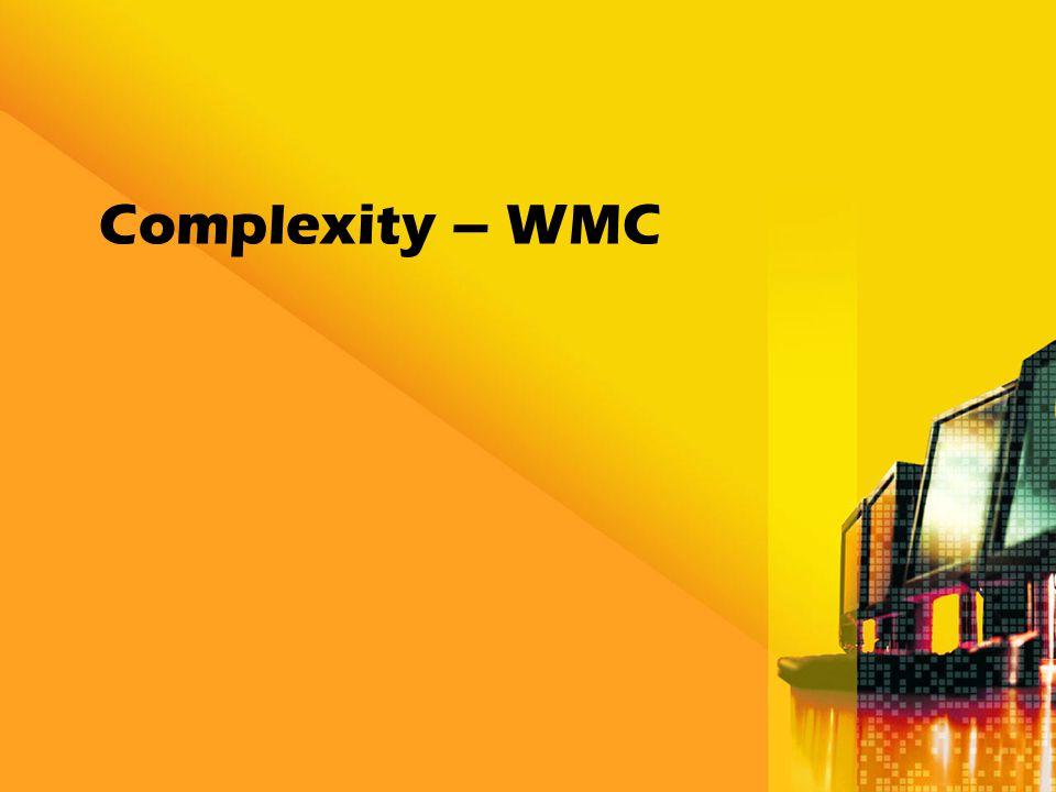 Complexity – WMC