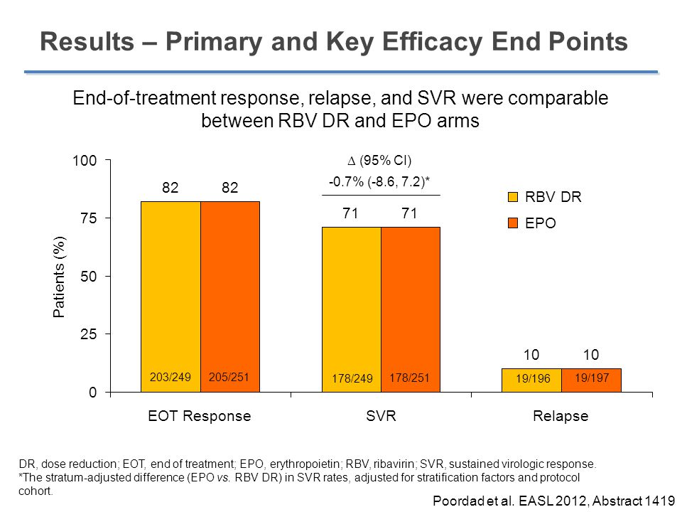 Results – Primary and Key Efficacy End Points
