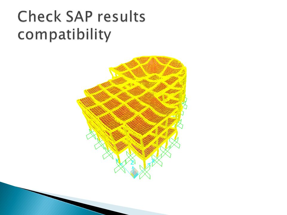 Check SAP results compatibility