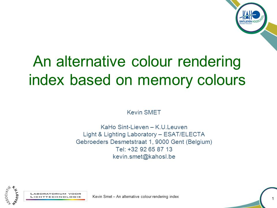 An alternative colour rendering index based on memory colours