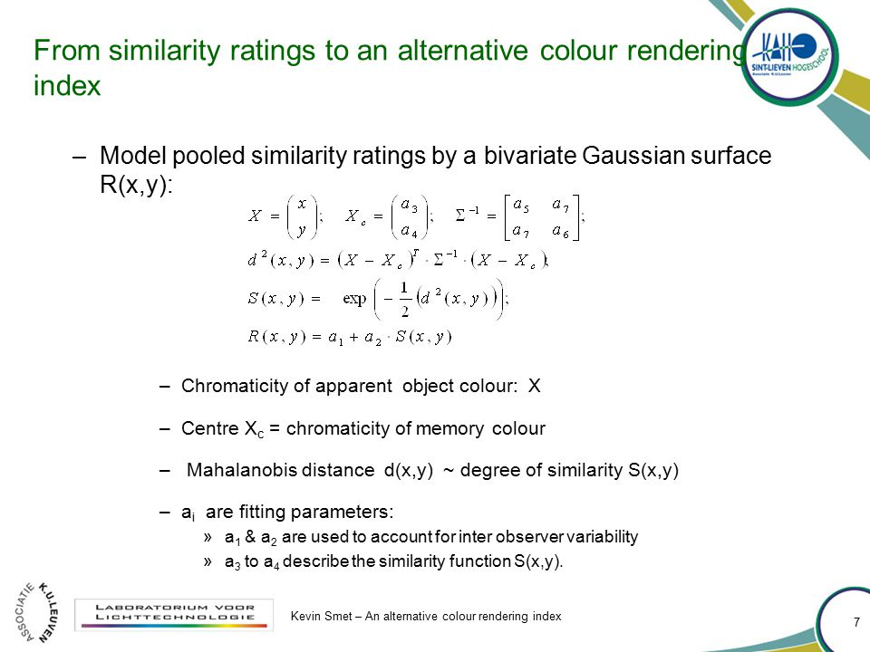 From similarity ratings to an alternative colour rendering index