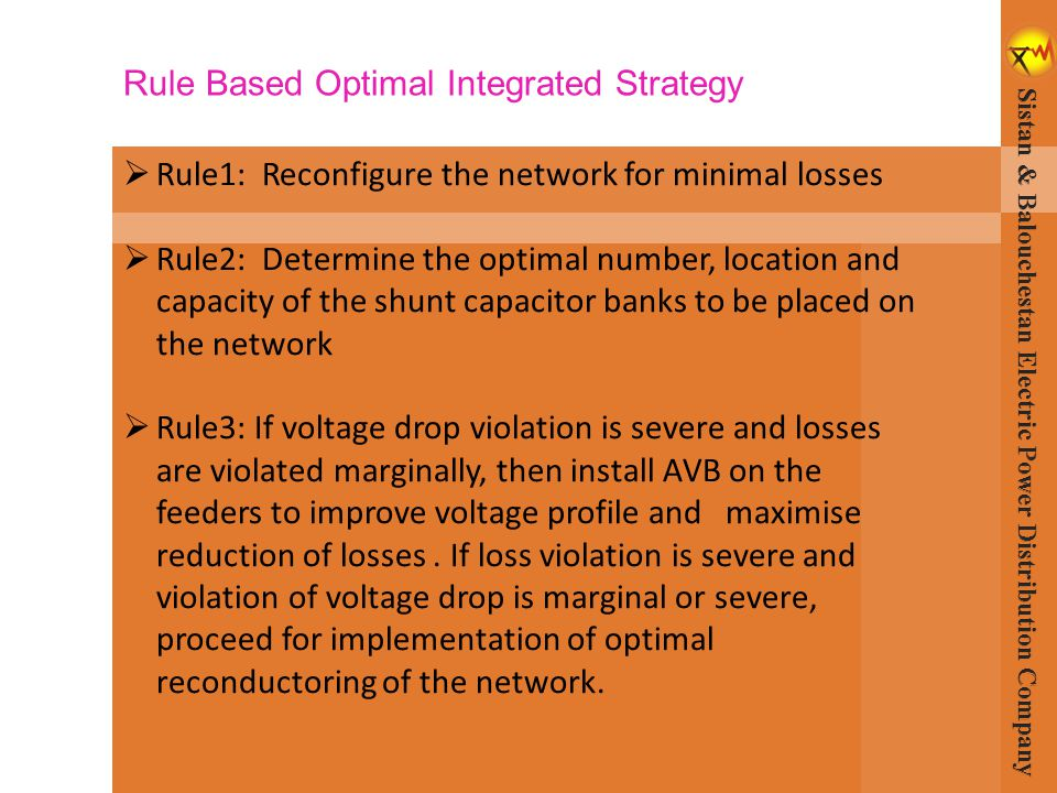 Rule Based Optimal Integrated Strategy