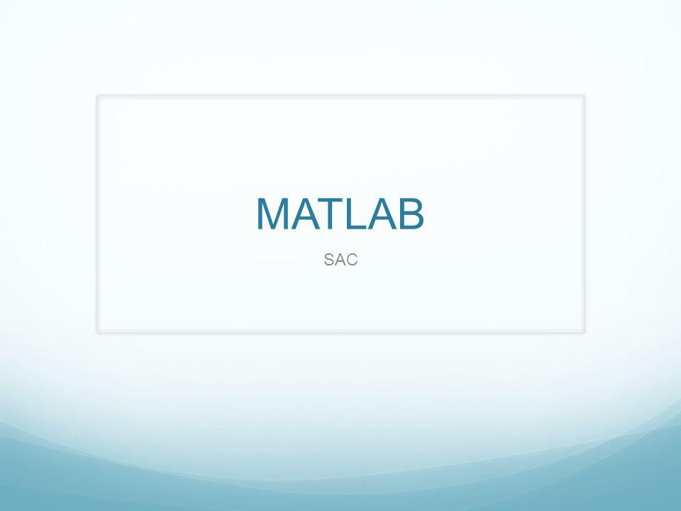 MATLAB SAC