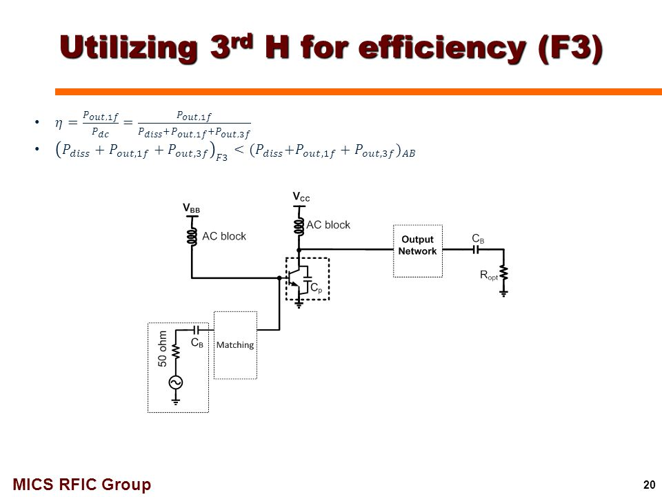 Utilizing 3rd H for efficiency (F3)