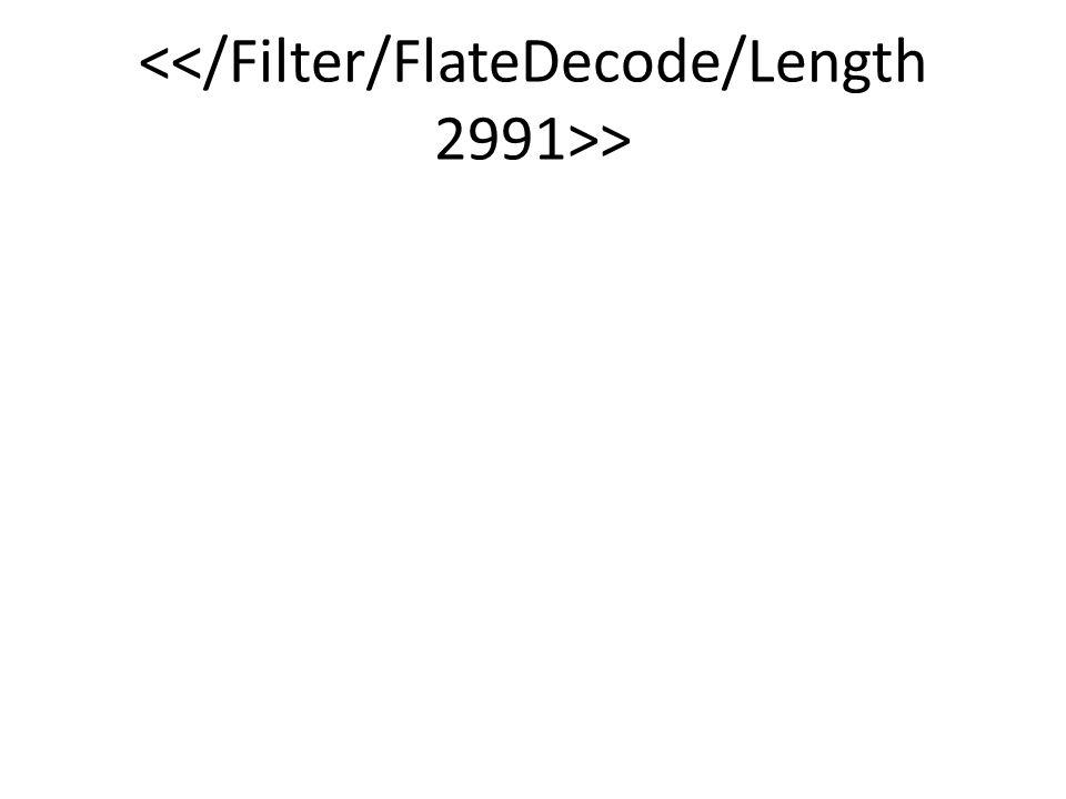 <</Filter/FlateDecode/Length 2991>>