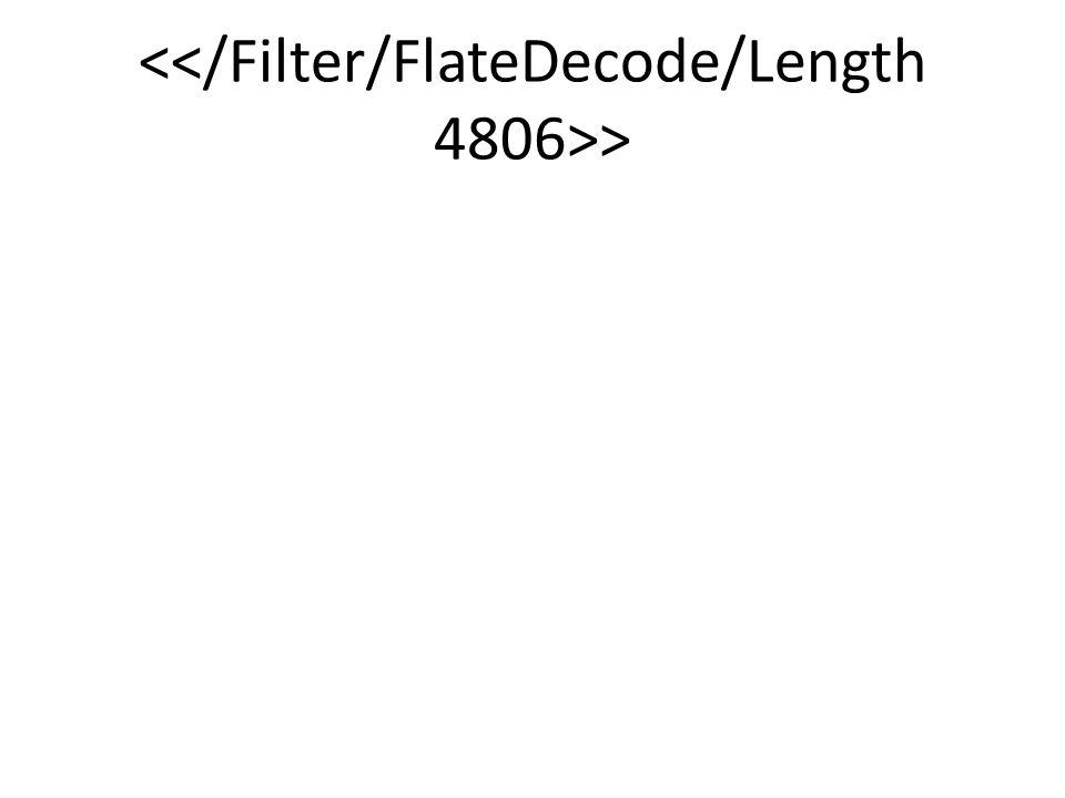 <</Filter/FlateDecode/Length 4806>>