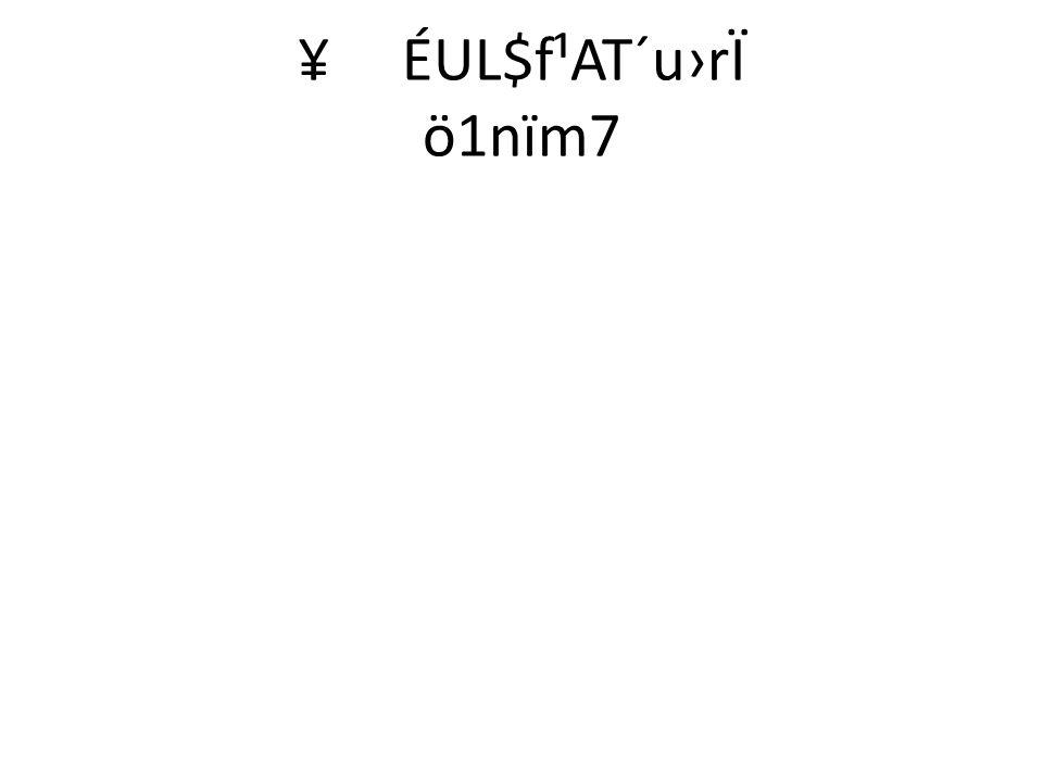 ö1nïm7