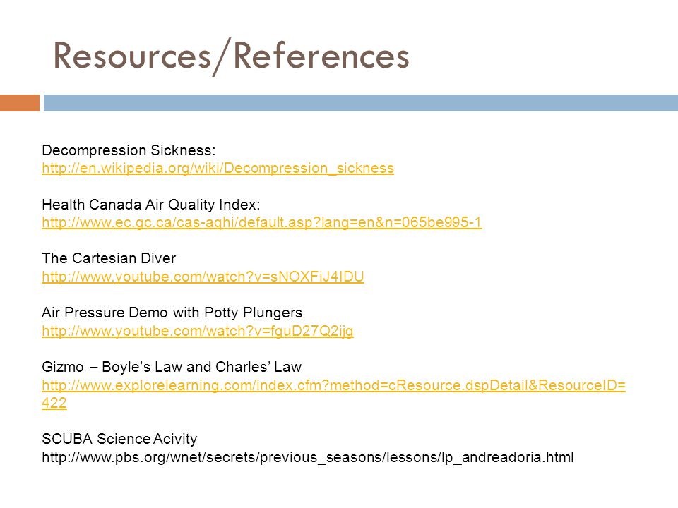 Resources/References