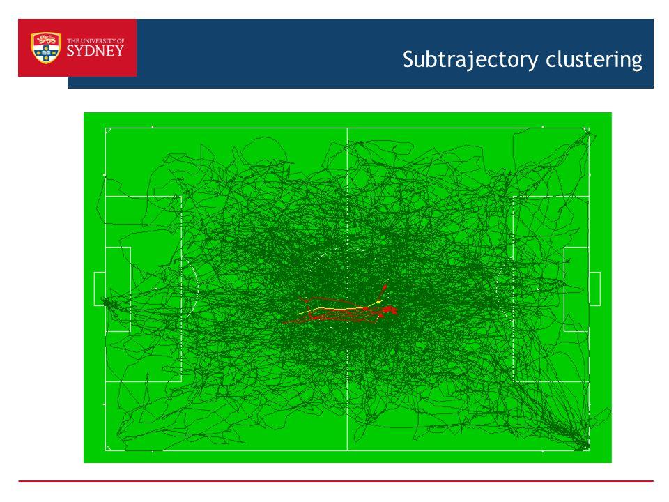 Subtrajectory clustering