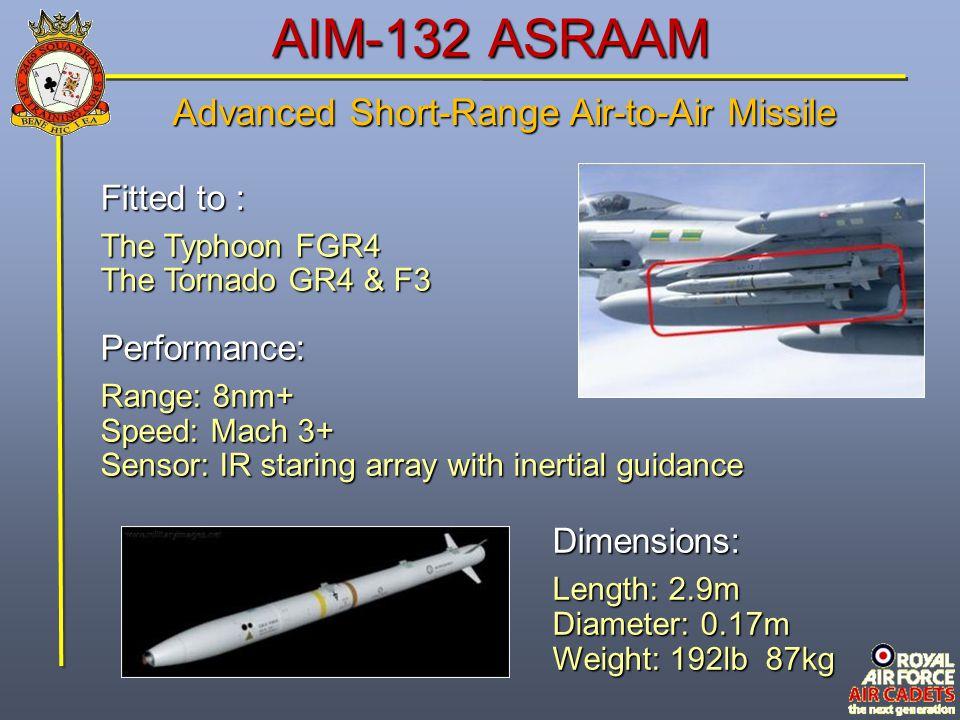 Advanced Short-Range Air-to-Air Missile