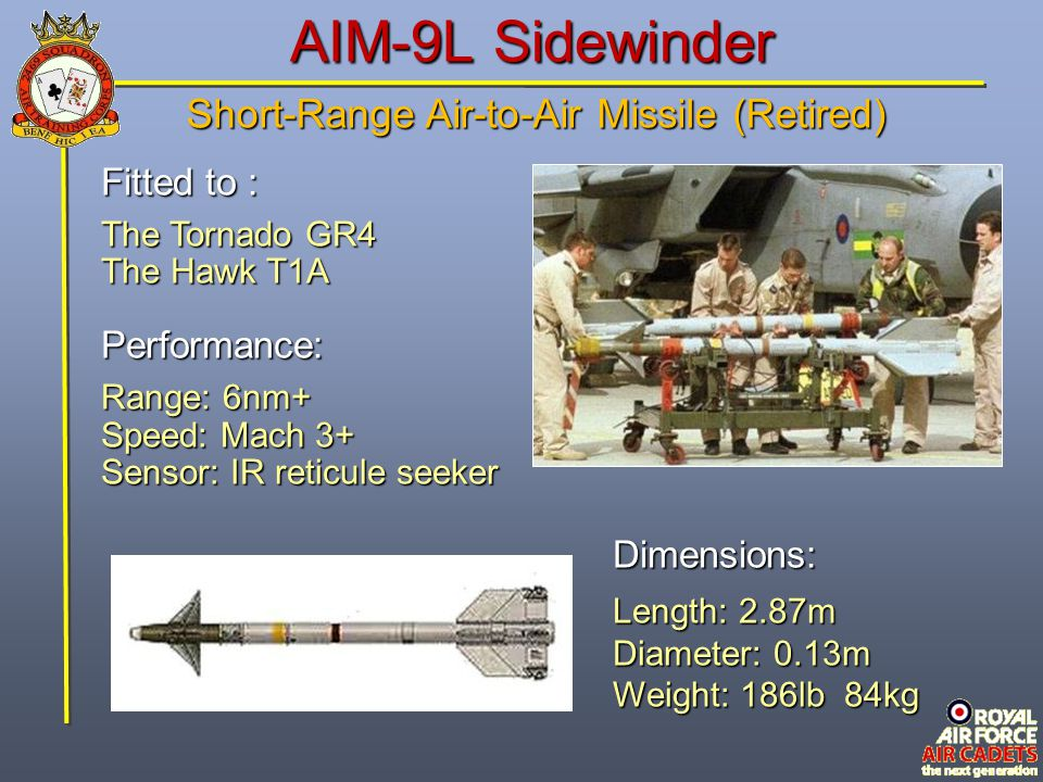 Short-Range Air-to-Air Missile (Retired)