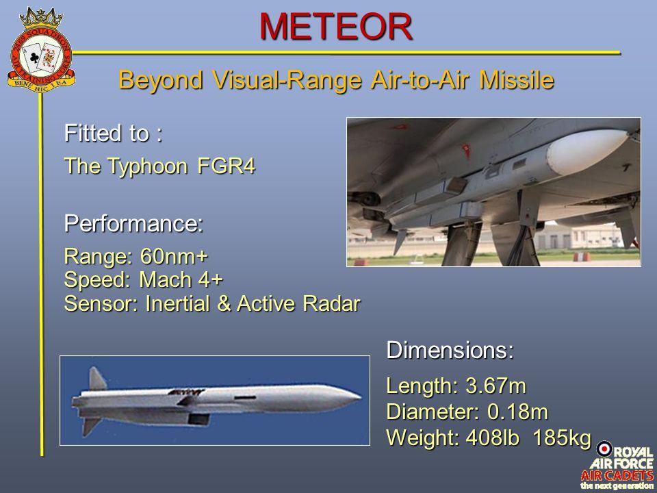 Beyond Visual-Range Air-to-Air Missile