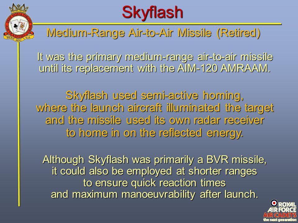 Skyflash Medium-Range Air-to-Air Missile (Retired)