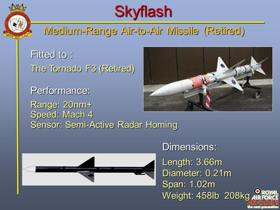 Medium-Range Air-to-Air Missile (Retired)