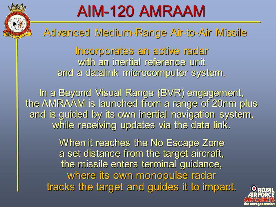 AIM-120 AMRAAM Advanced Medium-Range Air-to-Air Missile