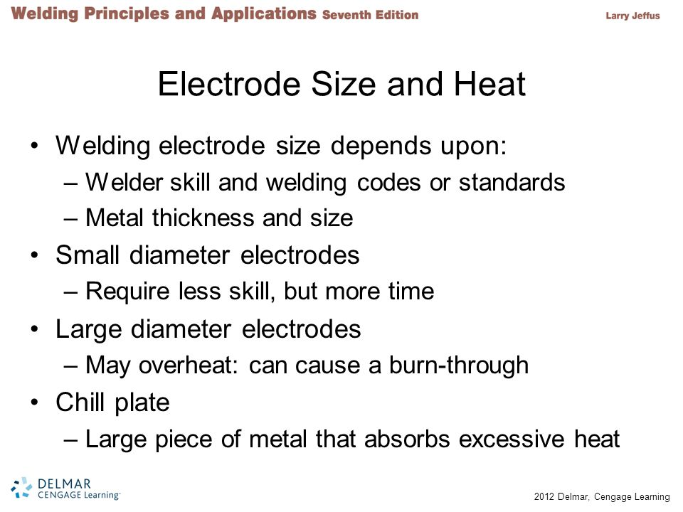 Electrode Size and Heat