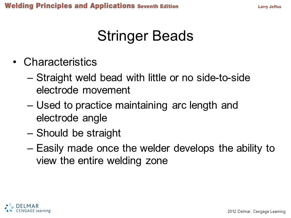 Stringer Beads Characteristics