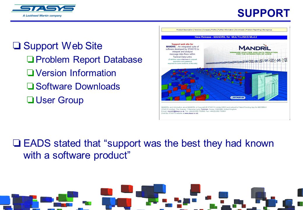 SUPPORT Support Web Site