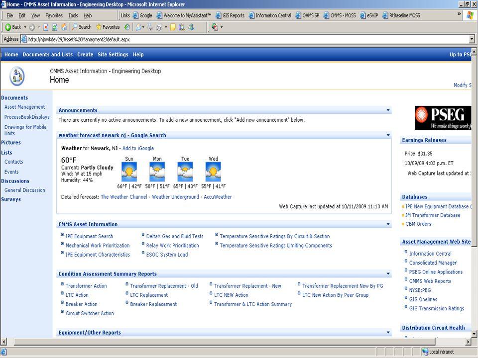 SAP BI Webinar 2009 PSEG T&D CBM