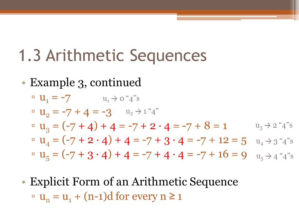 Chapter  Number Patterns  Arithmetic Sequences  Ppt Video