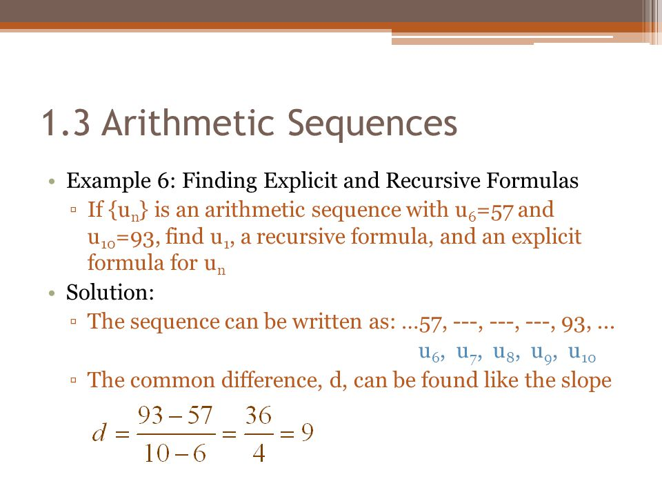 Chapter 1: Number Patterns 1.3: Arithmetic Sequences - ppt ...