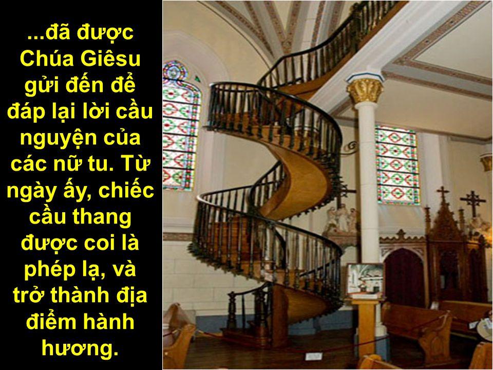 đã được Chúa Giêsu gửi đến để đáp lại lời cầu nguyện của các nữ tu