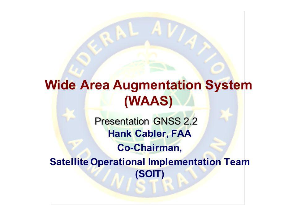 Wide Area Augmentation System (WAAS)