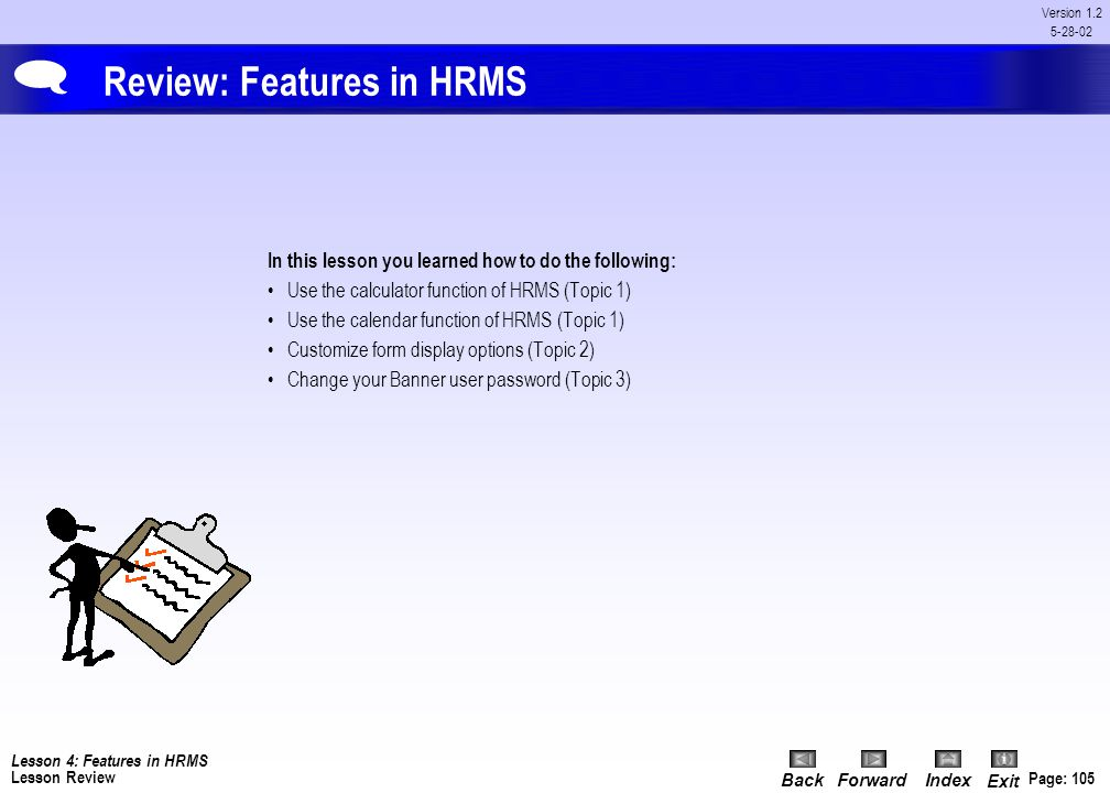 Review: Features in HRMS