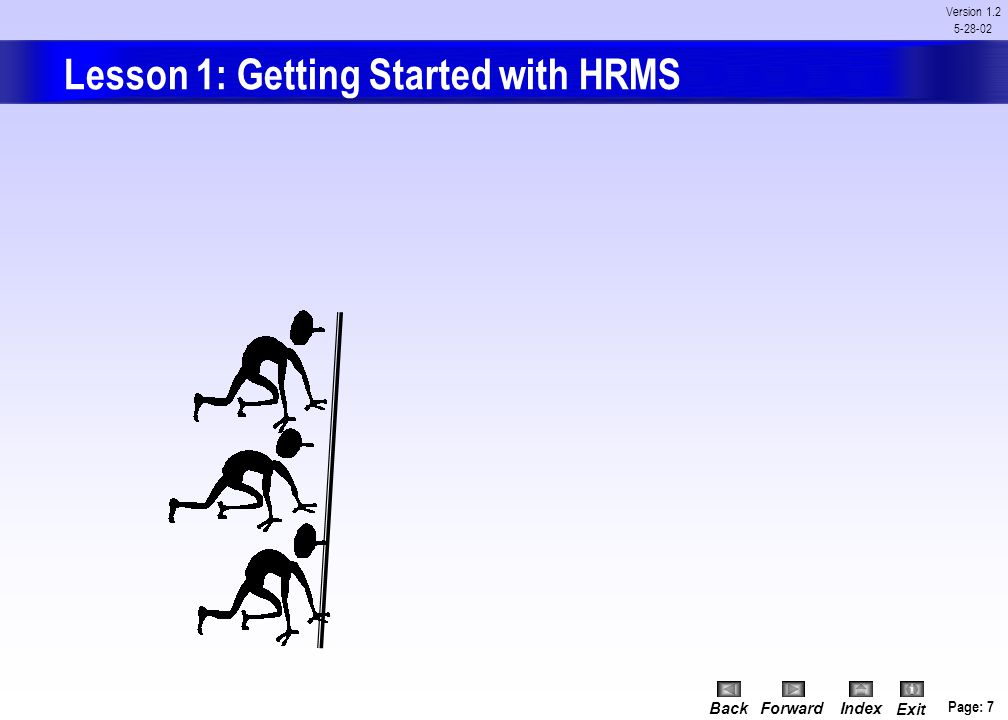 Lesson 1: Getting Started with HRMS
