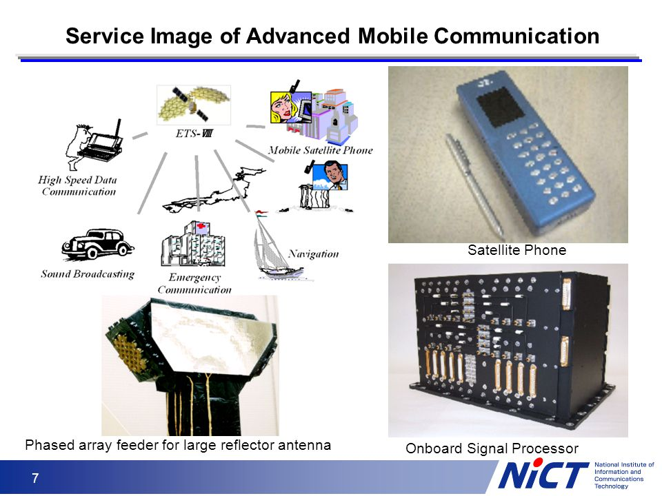 Service Image of Advanced Mobile Communication