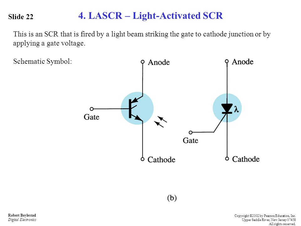4. LASCR – Light-Activated SCR