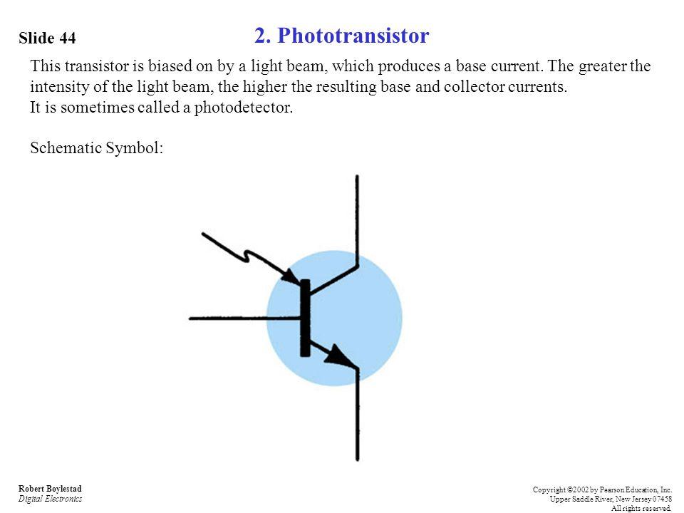 2. Phototransistor Slide 44
