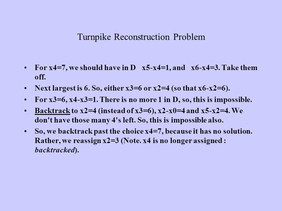 Turnpike Reconstruction Problem