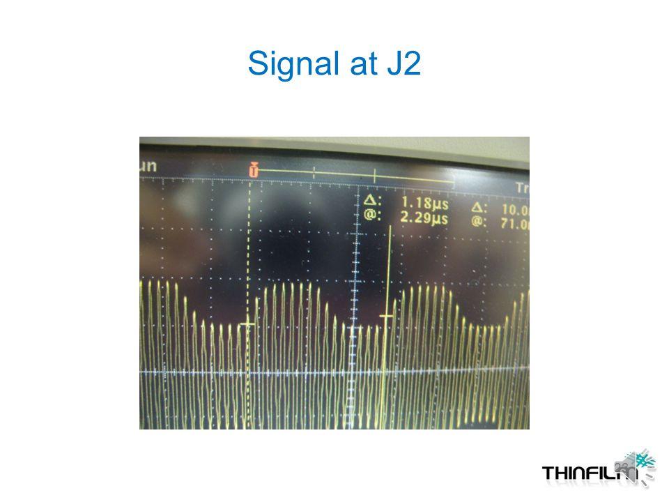 Signal at J2