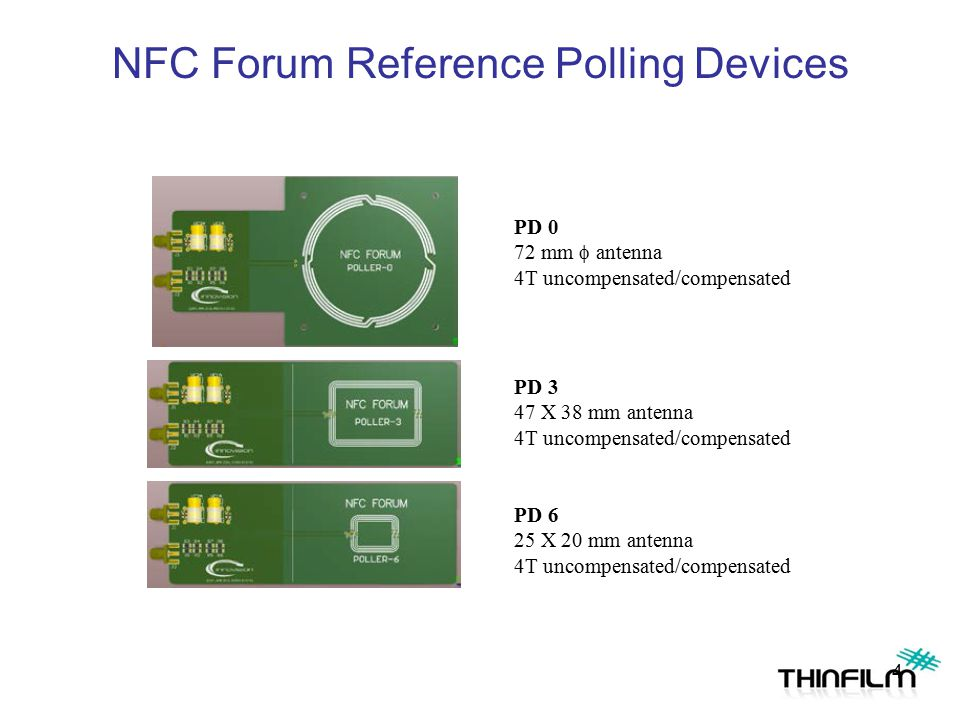 NFC Forum Reference Polling Devices