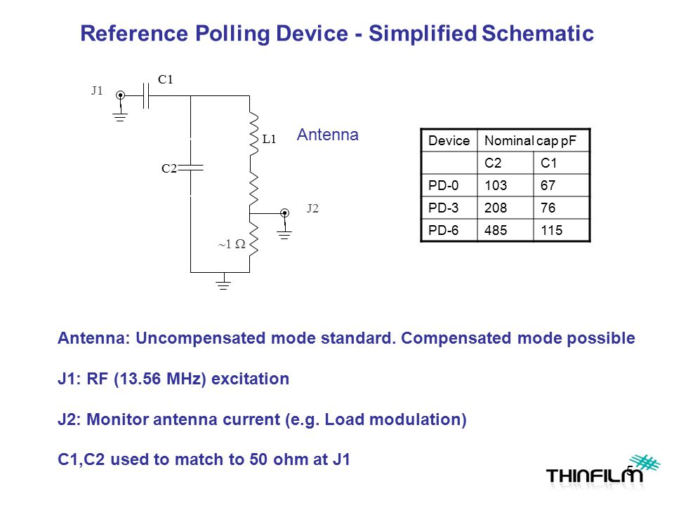 Reference Polling Device - Simplified Schematic