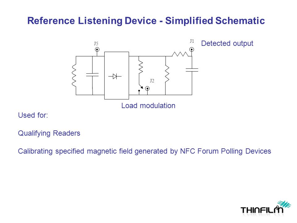 Reference Listening Device - Simplified Schematic