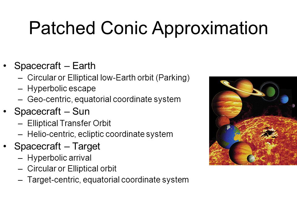 Patched Conic Approximation