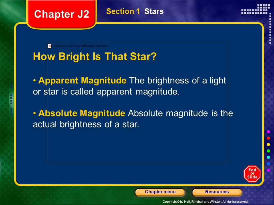 Chapter J2 How Bright Is That Star