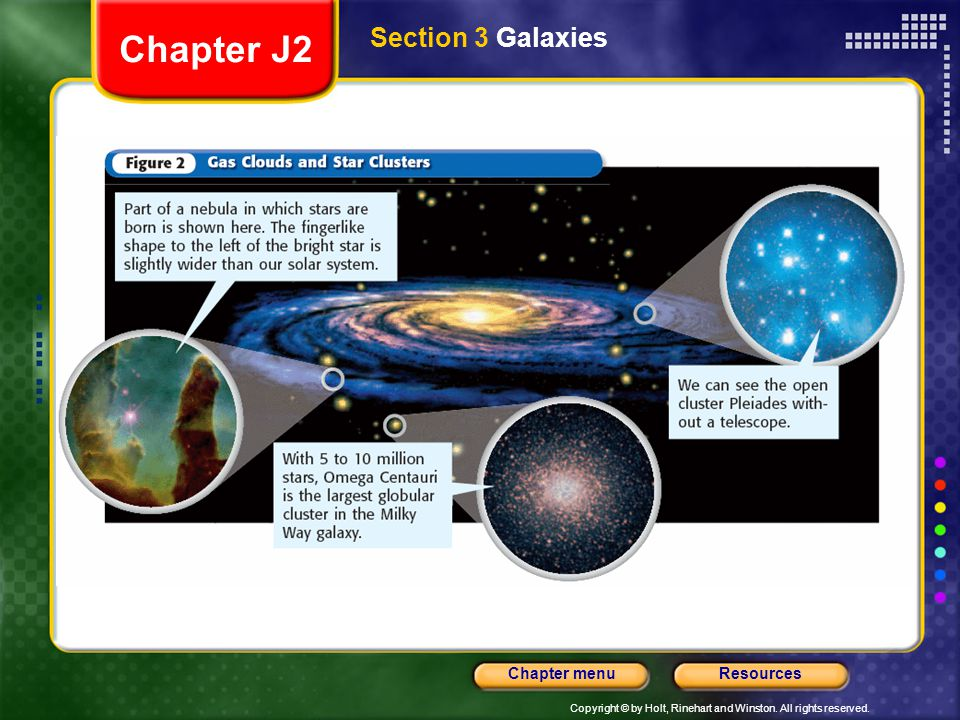 Chapter J2 Section 3 Galaxies