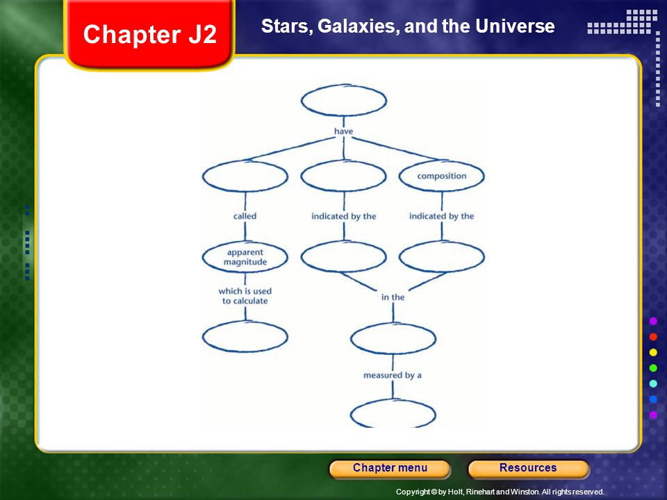 Chapter J2 Stars, Galaxies, and the Universe